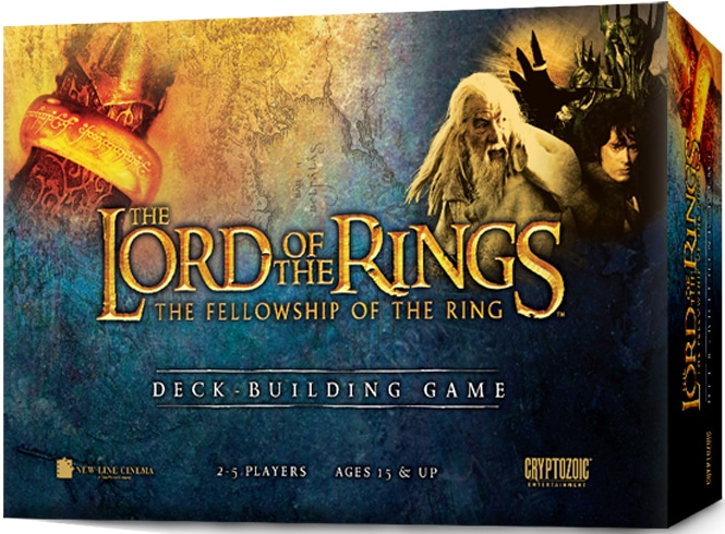 Fellowship Of The Ring Deck Building Game