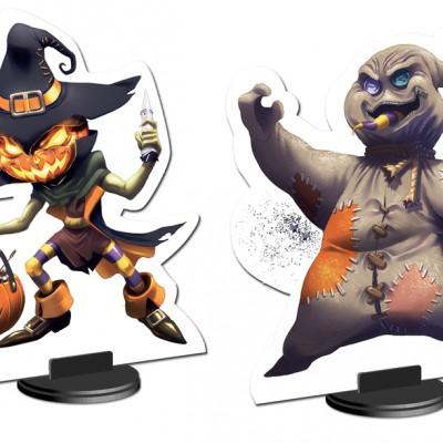 King of Tokyo Halloween Characters