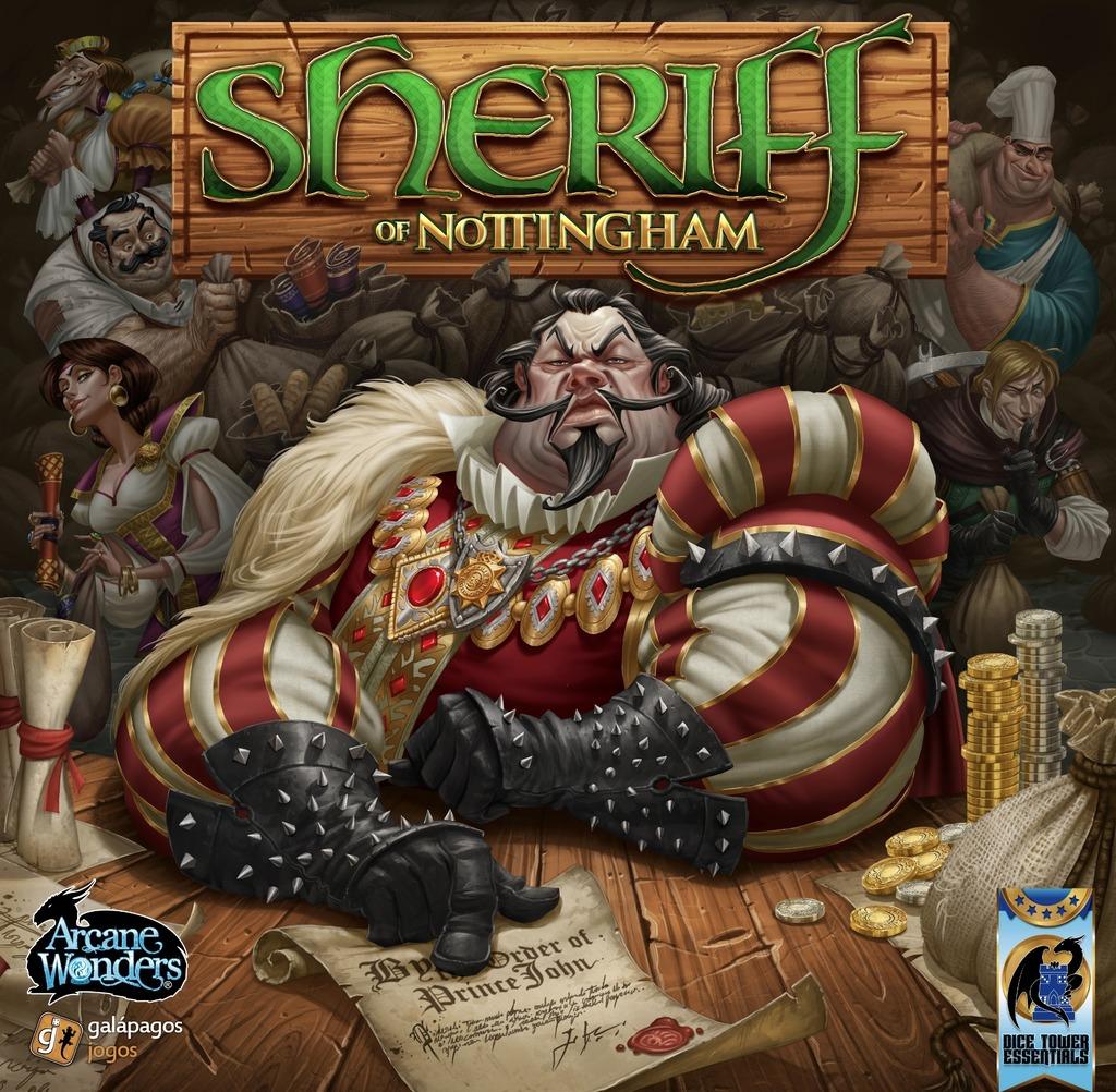Sheriff Of Nottingham Spiel
