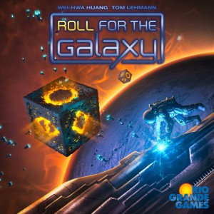 Roll for the Galaxy omslag