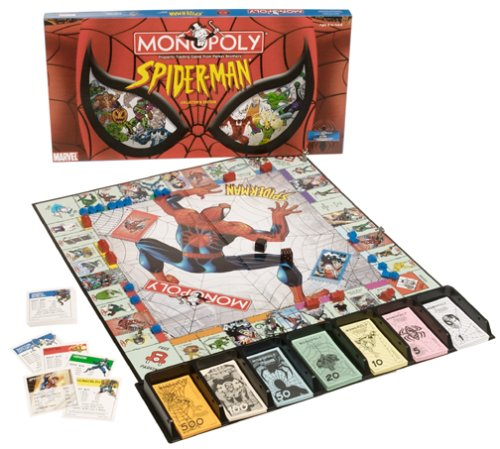 Spider Man Monopoly