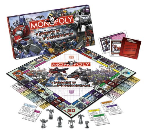 Transformers Monopoly