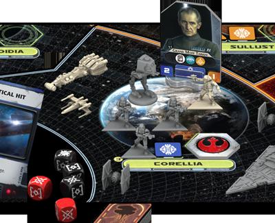 Star Wars Rebellion Komponenter 1
