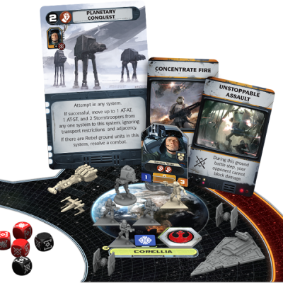 Star Wars Rebellion Komponenter 2
