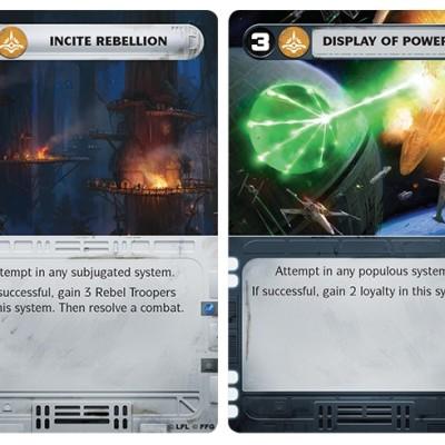 Star Wars Rebellion Kort