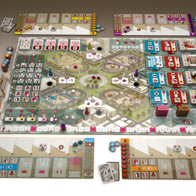 The Gallerist Setup