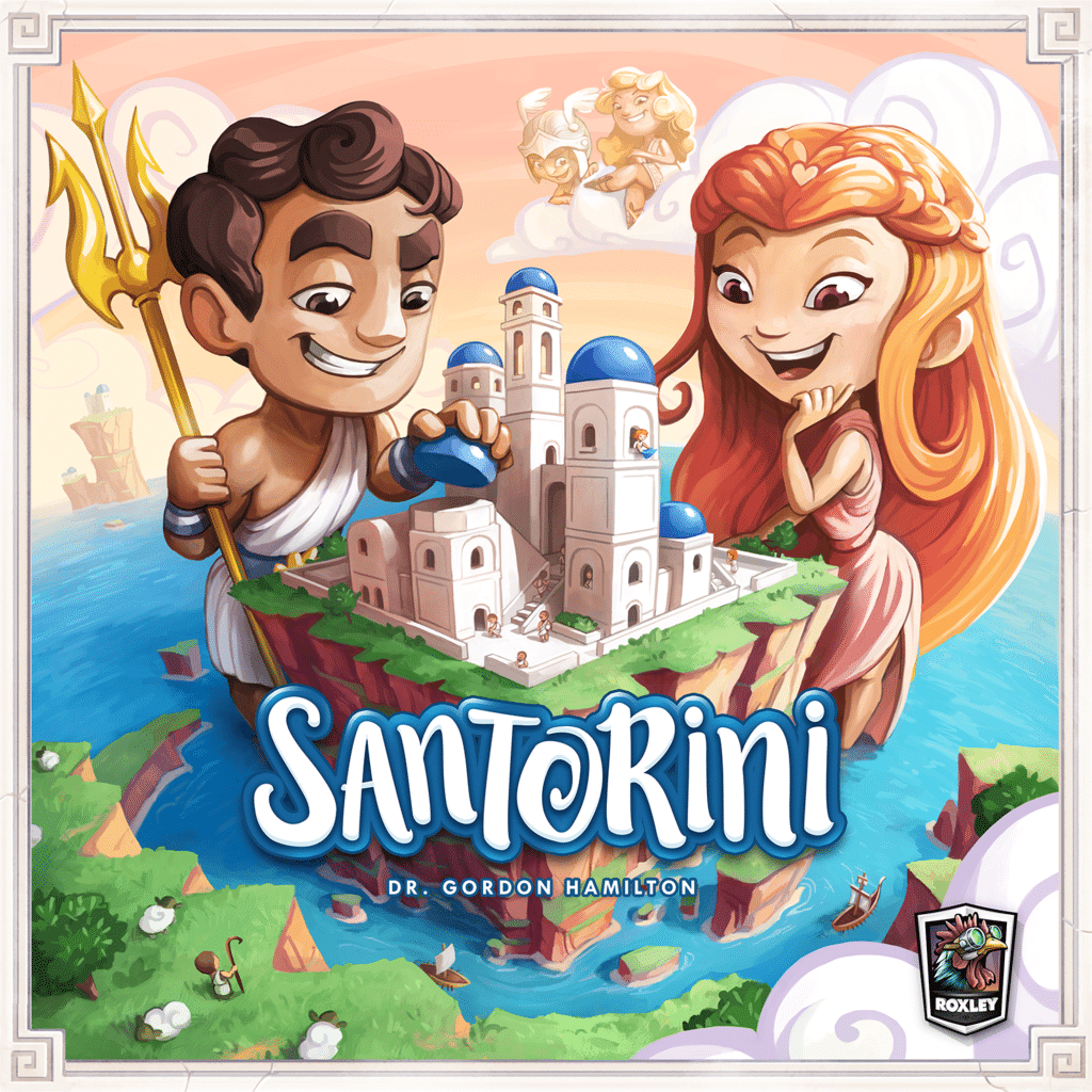 Nya spel! Santorini