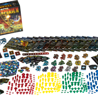 Twilight Imperium 4th edition Content