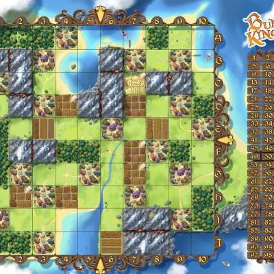 Bunny Kingdom game board