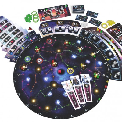 Pulsar Playboard with components