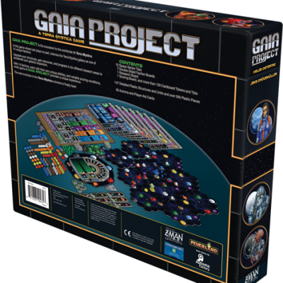 Gaia Project Back