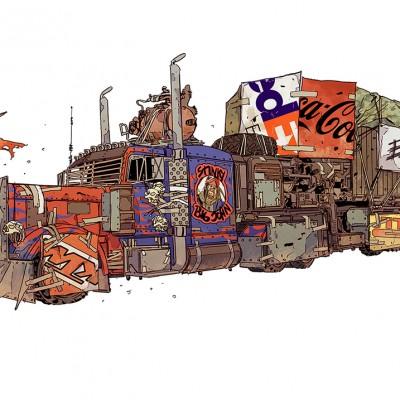 Wasteland Express Big John