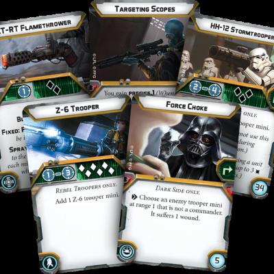 Star Wars Legion Kort 2