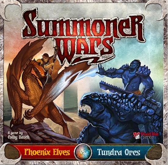 Summoner Wars Phoenix Elves Tundra Orcs