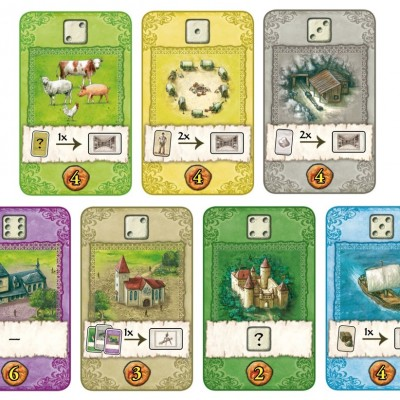 The Castles of Burgundy Card Game Kort