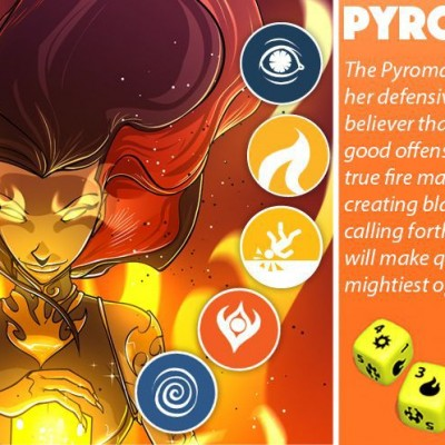 Dice Throne Pyromancer