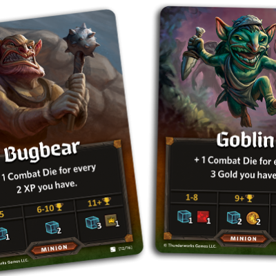 Roll player goblins
