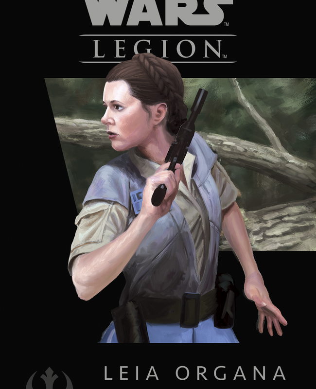 Star Wars Legion Leia